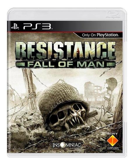 Resistance Fall Of Man Ps3 Mídia Física Pronta Entrega