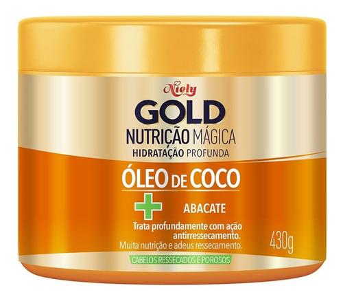 Niely Gold Máscara Concentrada Nutrição Poderosa