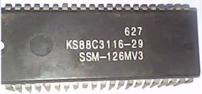 Micro Processador Tv Samsung Cn-3338v Ks88c3116-29