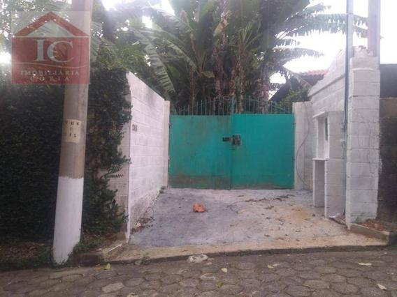 Chácara Com 1 Dormitório À Venda, 750 M² Por R$ 270.000,00 - Tijuco Preto - Cotia/sp - Ch0072