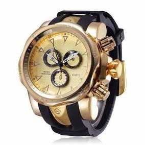 Relógio Masculino Amuda Venom Dourado