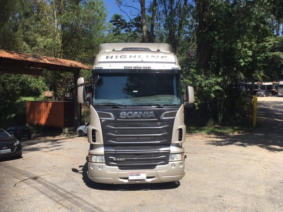 Scania/r-480 Champagne 12/12 Highline 6x2 Retarder