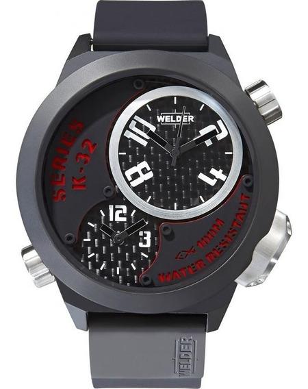 Reloj Welder K32 Por U-boat Acero Triple Horario K32 9201
