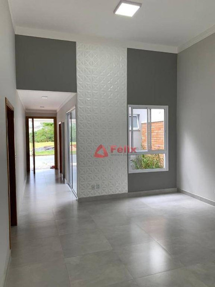 Excelente Casa No Condomínio Campos Do Conde Chambord - Tremembé. - Ca1526