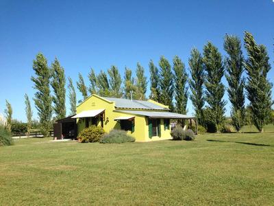Casa Campestre En Barrio Privado Chacras Laguna. Vitel