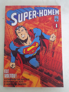 Super-homem Nº 1 - Abril (leia O Anúncio)