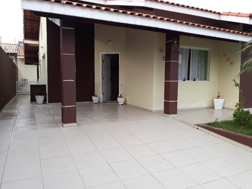 Casa Residencial À Venda, Balneario Florida, Peruíbe. - Ca0622
