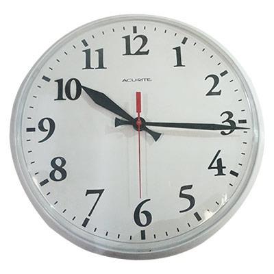 Reloj De Pared Int/ext 12.5 White 01960 Acurite.