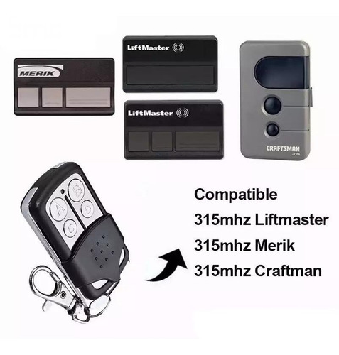 Control Puerta Automatica Merik Liftmaster Craftman 315mhz