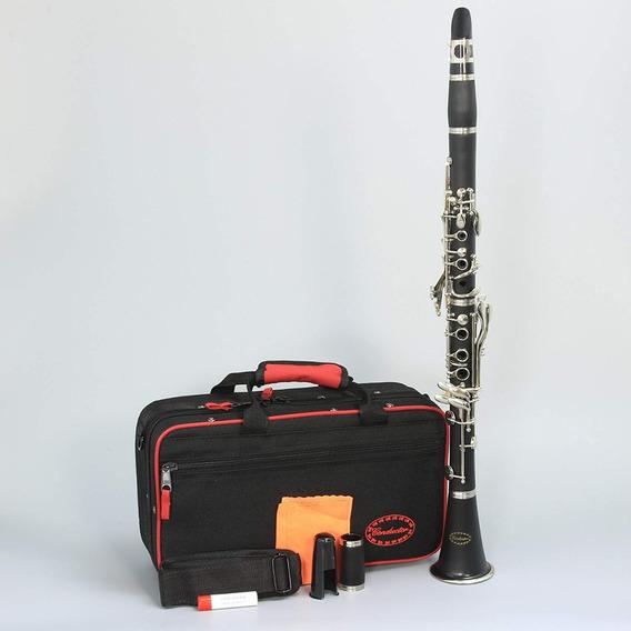 Clarinete Conductor 17 Chaves Sib C/ Estojo Térmico