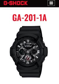 Relógio G Shock Ga 201 Muito Novo Na Caixa