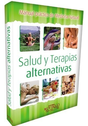 Libro Manual Medicina Natural Salud Y Terapias Alternativas