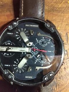 Reloj Hombre Gigante! Diesel Dz7314 Mr Daddy Original 100%