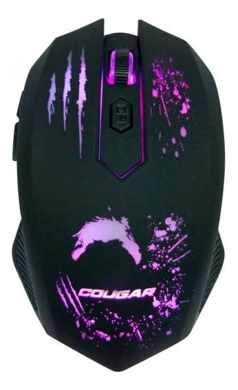 Mouse Gamer Dazz Cougar Attack 2400dpi Iluminado Usb