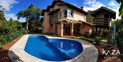 Alugo Casa Na Lagoa Da Conceição Em Condomínio Fechado - 3727