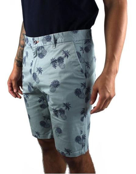 Short Bermuda Para Hombre Casual