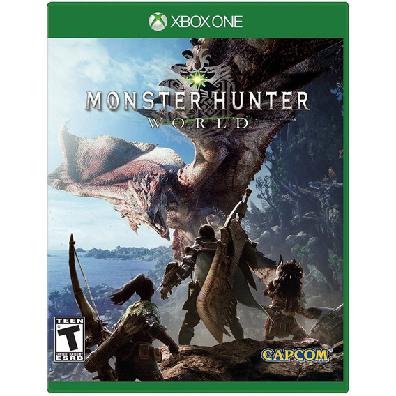 Monster Hunter World Xbox One Mídia Física Lacrado