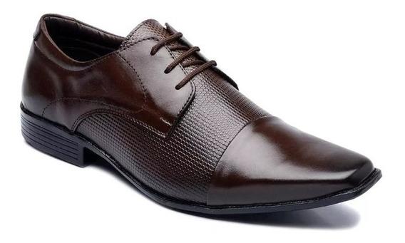 Sapato Masculino Couro Legitimo Social Casual Couro Legitimo