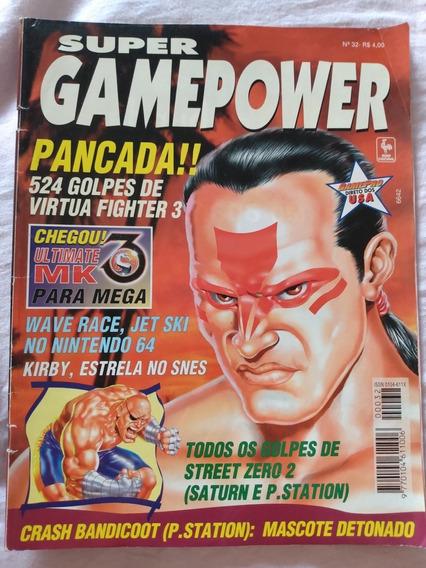 Revista Super Gamepower Nº 32 Ultimate Mortal Kombat 3 Kirby
