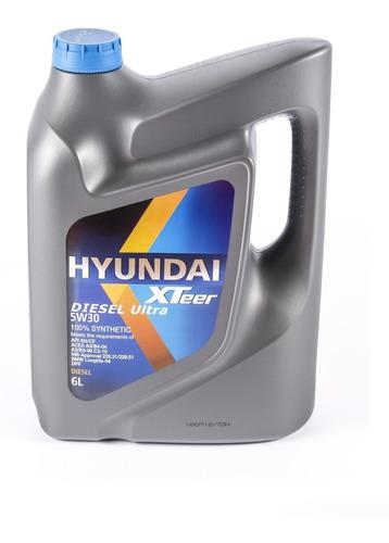 Imagen 1 de 4 de Aceite Motor Hyundai Xteer 5w-30 Sintético 6 Litros Para Dpf