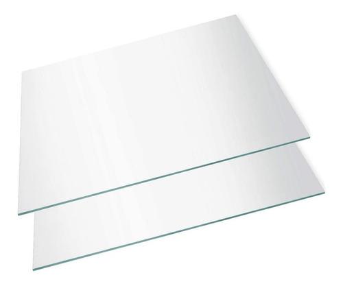 Imagen 1 de 9 de Placa Acrilico Transparente Visor 20 X 30 Cm X 2mm | A4