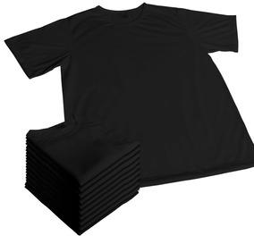 Kit 10 Camisetas Para Sublimação Lisa 100% Poliester Camisas