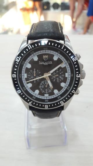 Relógio Lancaster Pulseira De Couro