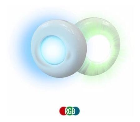 Refletor Iluminação Piscina Super Led Rgb 4,5w 12m² Tholz