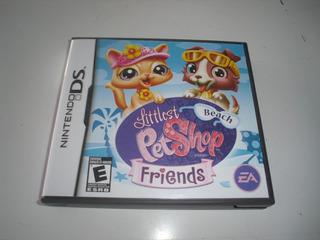 Jogo Nintendo D S Littlest Pet Shop Friends Beach E A