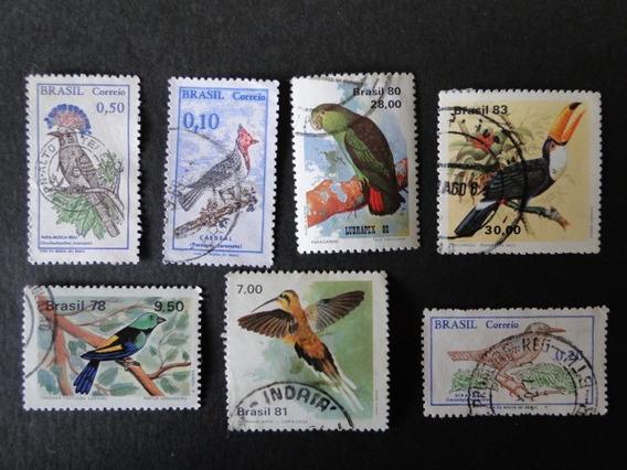 Pássaros - Coleção De Selos Brasileiro - 4688