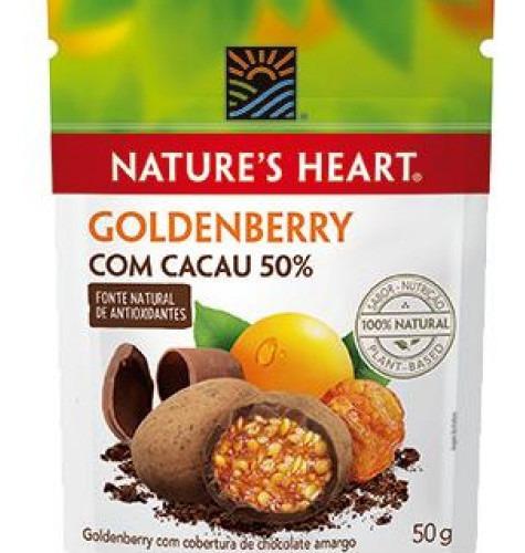 Snack Natures Heart Cacau E Goldenberry 50g