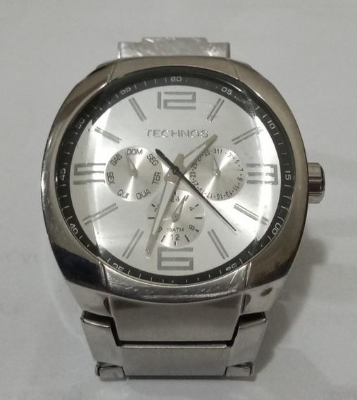 Relógio Technos Skymaster 6p29 + Caixa, Elos, Certificado