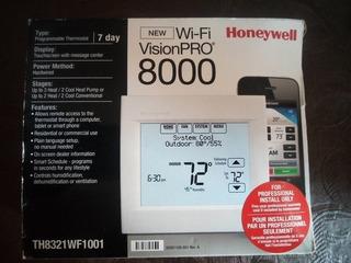 Control Honeywell Vision Pro 8000