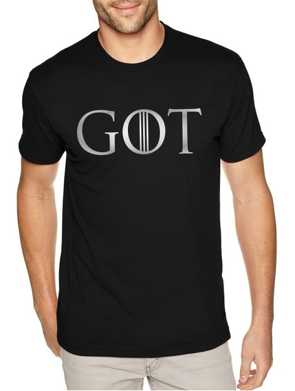 Camiseta Masculina Série Game Of Thrones - Got 8º Temporada