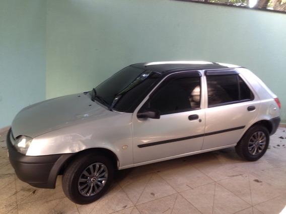 Ford Fiesta 2000 Prata Sem Débitos E Sem Multas.