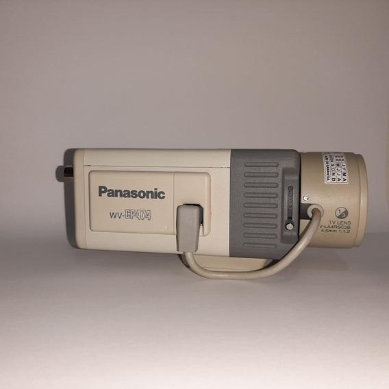 Câmera Profissional Panasonic Wv-cp474