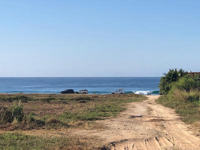 Hermosa Lotificacion En Venta Frente Al Mar En Puerto Escondido.