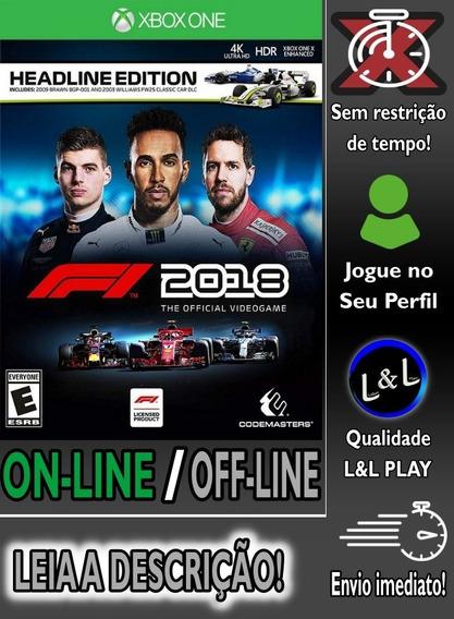 F1 2018 Xbox One Digital + Jogo Brinde