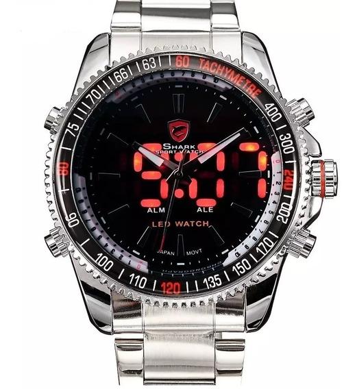 Relógio Masculino Digital Analógico Original Garantia E Nf