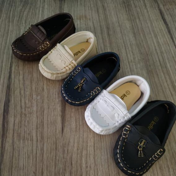 Sapato Infantil Menino Mocassim Tam 17-22