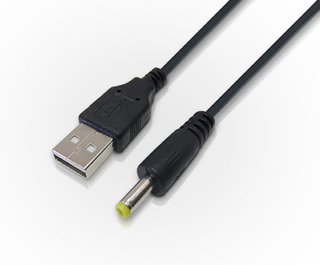 Cable De Alimentación Plug 1,35mm A Usb