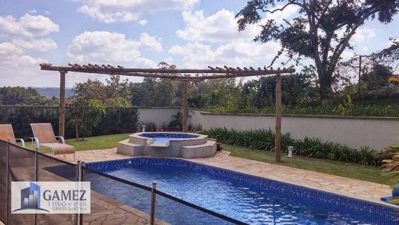 Casa Residencial À Venda, Condomínio Fechado, Atibaia - Ca0671. - Ca0671