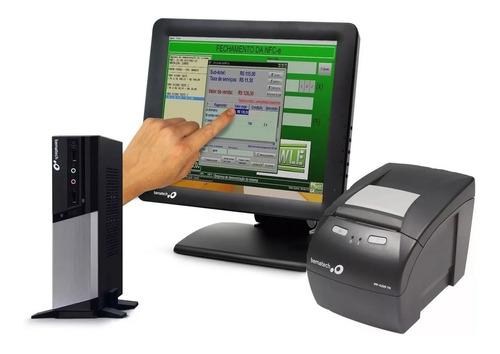 Kit Pdv Bematech Mp4200 Usb + Monitor Touch +  Rc-8400 + Nf