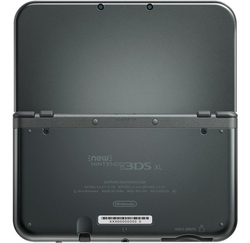 Nintendo New 3DS XL Standard negro metálico