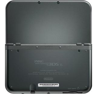 Nintendo New 3DS XL Standard negra metálica