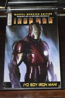 Ironman Yo Soy Ironma Pelicula Marvel Monster Edition Comic