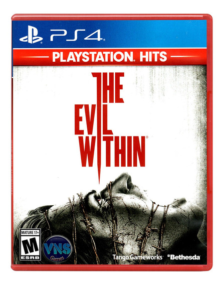 The Evil Within - Ps4 - Mídia Física - Lacrado