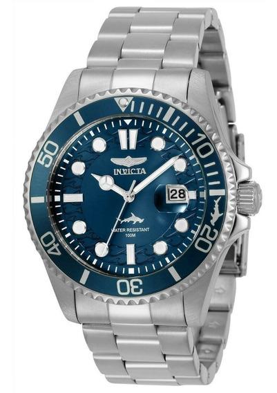 Relógio Invicta Pro Diver 30019 Original Azul Masculino