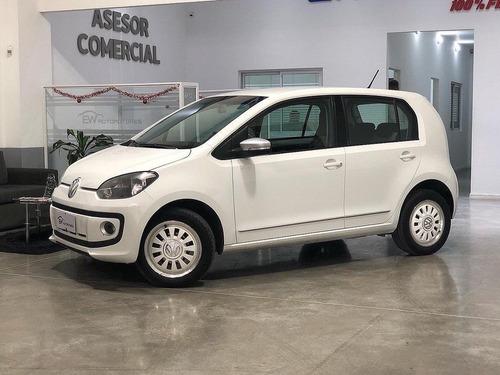 Volkswagen Up White 1.0 2015 Financio Hasta El 100%