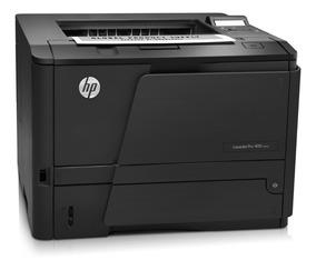 Impressora Laser Hp Pro 400 M401dn Ctoner Rede E Duplex !!!